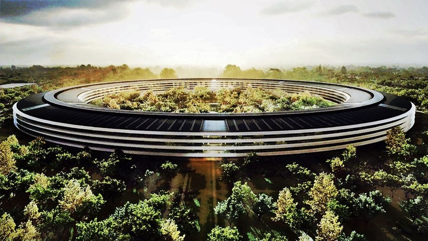 Detail apple hq